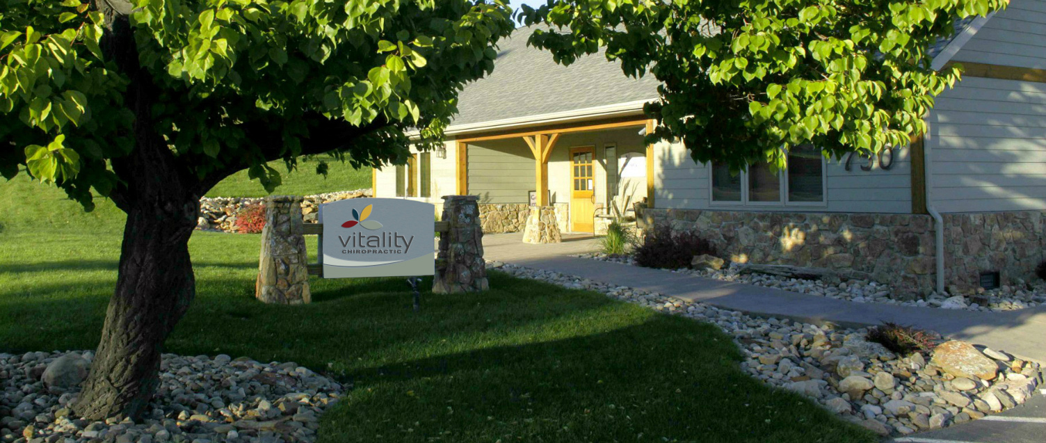 Vitality Chiropractic sign and building